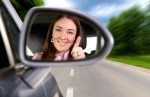 Woman Driving A